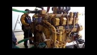 Caterpillar 3508 Engine start