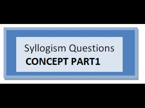 how to solve syllogism problems
