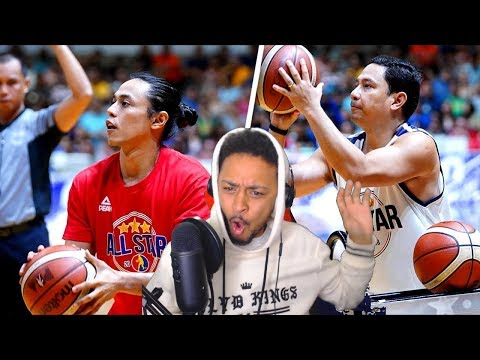 HOW DID THEY WIN THIS ?? PBA LEGENDS 3POINT SHOOTOUT REACTION