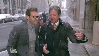 Ryan Gets a Snowstorm Update From Eyewitness News' Bill Evans