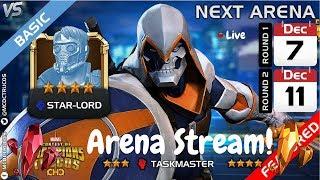 TaskMaster/Starlord Arena Milestones! Live! Marvel Contest Of Champions