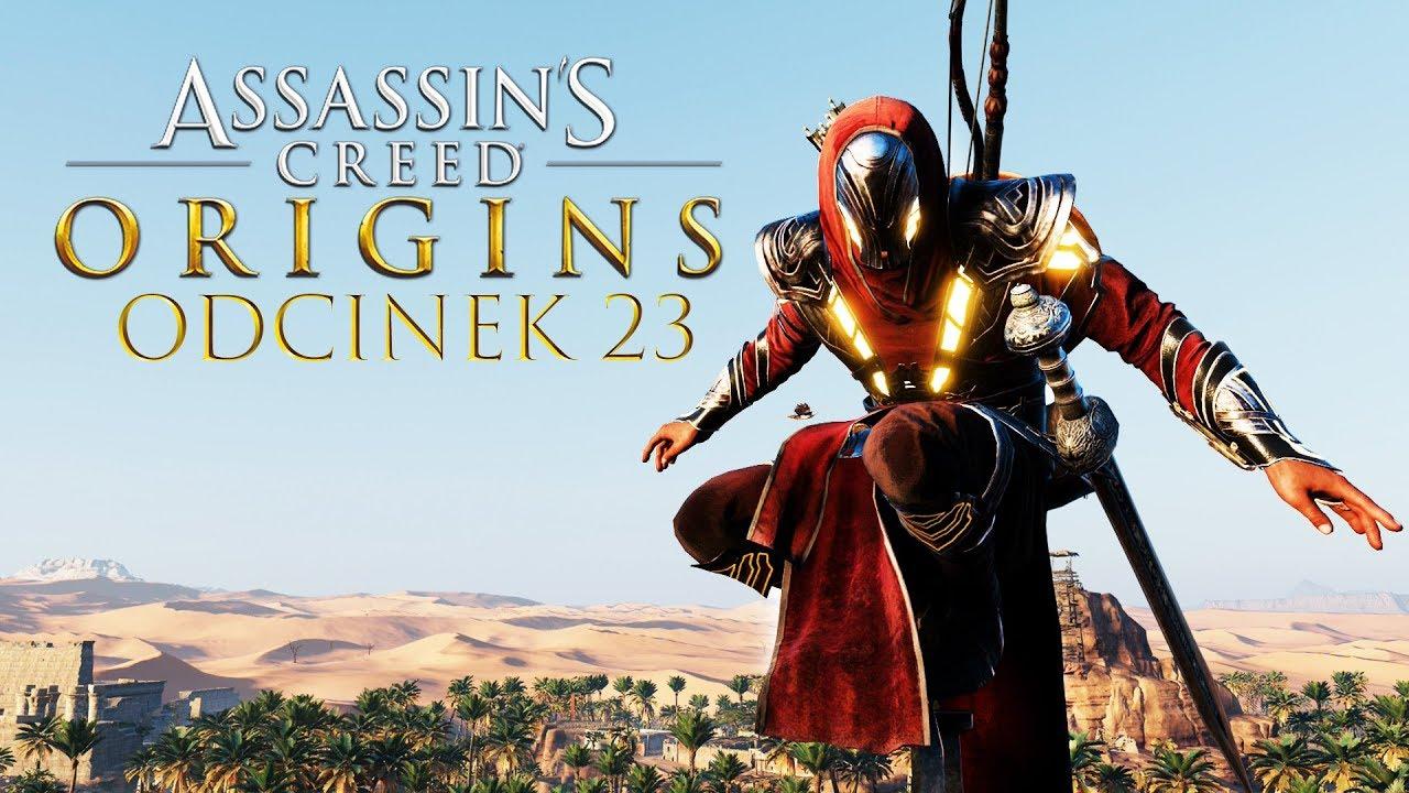 Zagrajmy w Assassin's Creed Origins #23 – NAJLEPSZY STRÓJ W GRZE! – PC