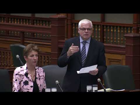 Minister of Environment appears to ignore concerns about Lakeshore East Rail expansion.