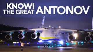 ✈ Antonov 225 Mriya - The WORLD'S BIGGEST Aircraft!!
