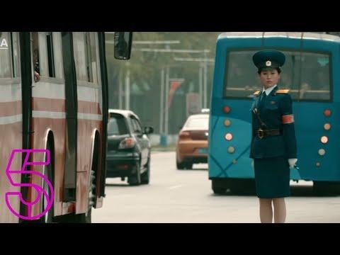 Pyongyang's Mesmerising Traffic