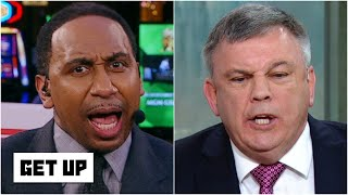 Stephen A. & Teddy Atlas' Deontay Wilder vs. Tyson Fury debate turns into a shouting match | Get Up