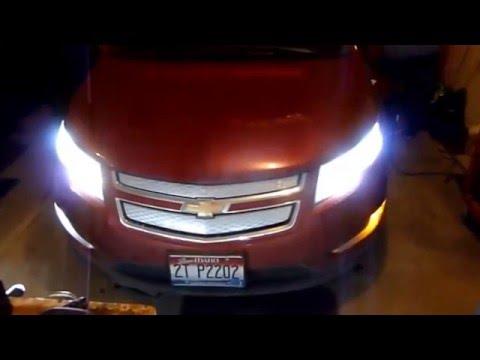 Jdm Astar Led Switchbacks On 2012 Chevy Volt Youtube
