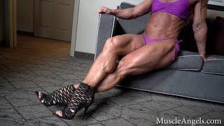 Sexy Female Legs And Calves Mega Muscular!