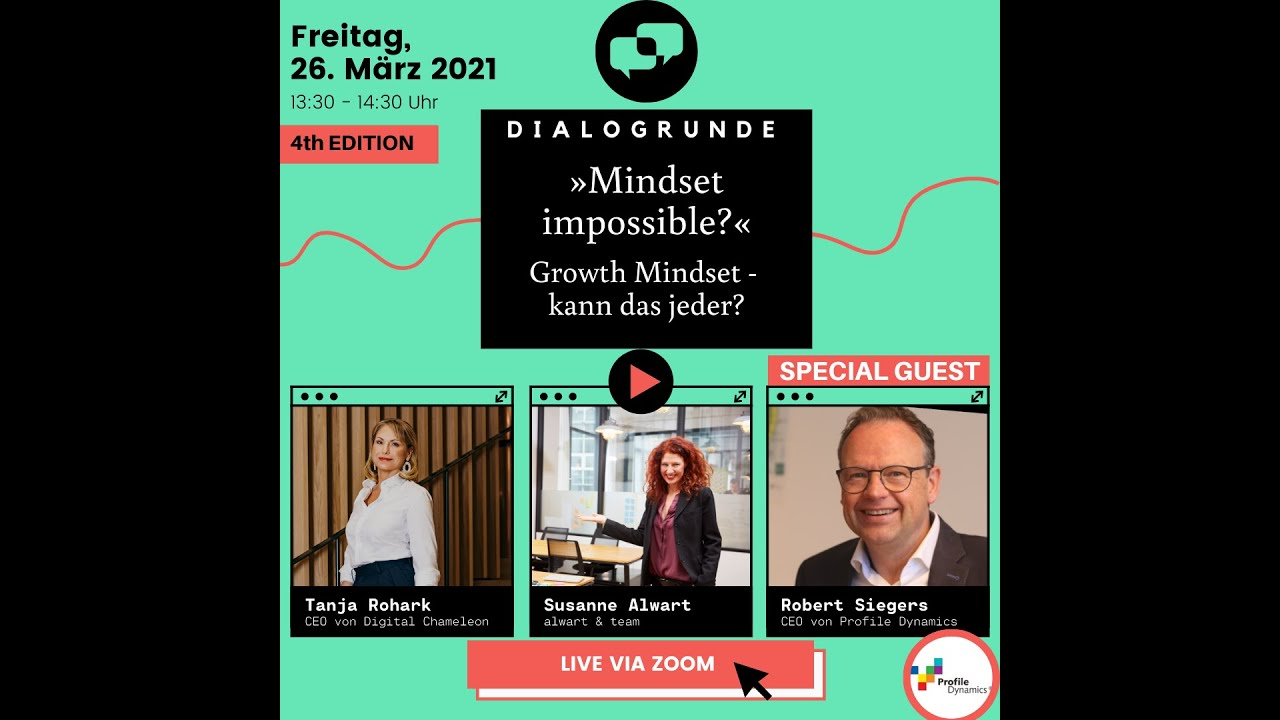 Missed the last edition of Mindset Impossible?
