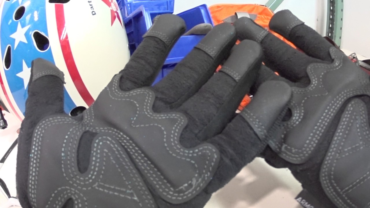 Hardware Store Gloves For Cycling Used It Review Youtube