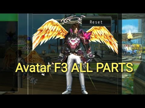 Avabel Online Avatar BOSS F3 Jabbawo/Greed All Parts