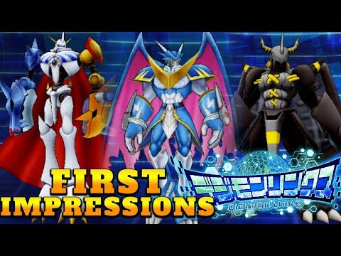 NEW DIGIMON GAME! Digimon Links Gameplay & Multi Summons + First Impressions! w/ NumbNexus