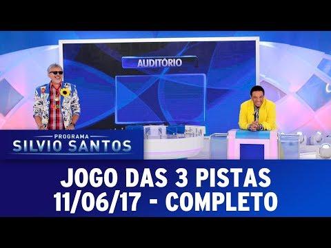 Jogo das 3 Pistas | Programa Silvio Santos (11/06/17)