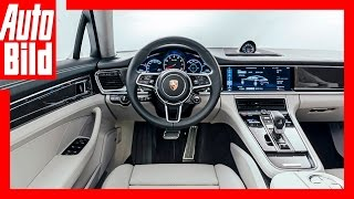 Video Porsche Panamera 2 Sitzprobe (2016) - Panamera Weltpremiere Review Neu Test