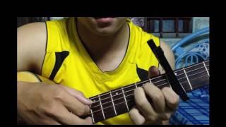 Hướng Dẫn guitar solo Fingerstyle Tôi Thấy Hoa Vàng Trên Cỏ Xanh PCuoi by SMR