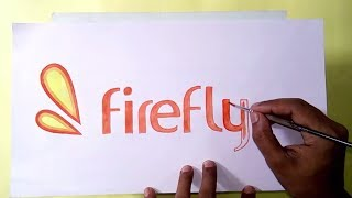 How to draw the Firefly logo