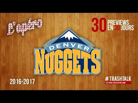 Apéro TrashTalk - Preview saison 2016/17 : Denver Nuggets