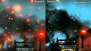 Crysis 2 PC - DirectX 9 vs DirectX 11 - Graphics Comparison