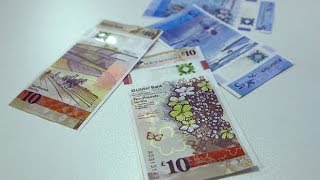 UK's first vertical banknote now legal currency