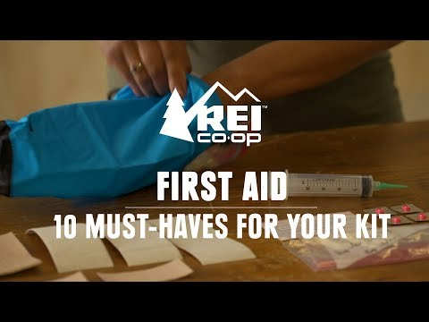 10 Must-Haves for Your Hiking First-Aid Kit || REI