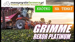 Grimme Rexor Platinum – nowa generacja (2019)