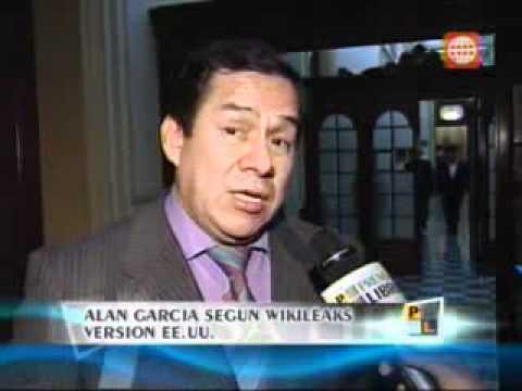 Informe sobre el perfil psicológico de Alan García según el cable filtrado por WikiLeaks.