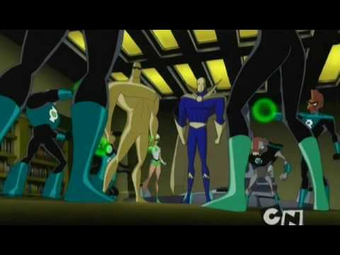 Green Lantern Kyle Rayner On Jlu 4 Of 4