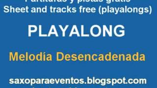 Pista de melodia desencadenada + partitura gratis para vientos y cuerdas