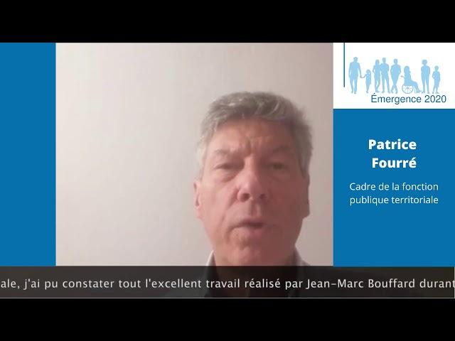 Elections municipales Saint-Georges de Didonne 2020 – Patrice FOURRÉ – Réalisation Emergence 2020.