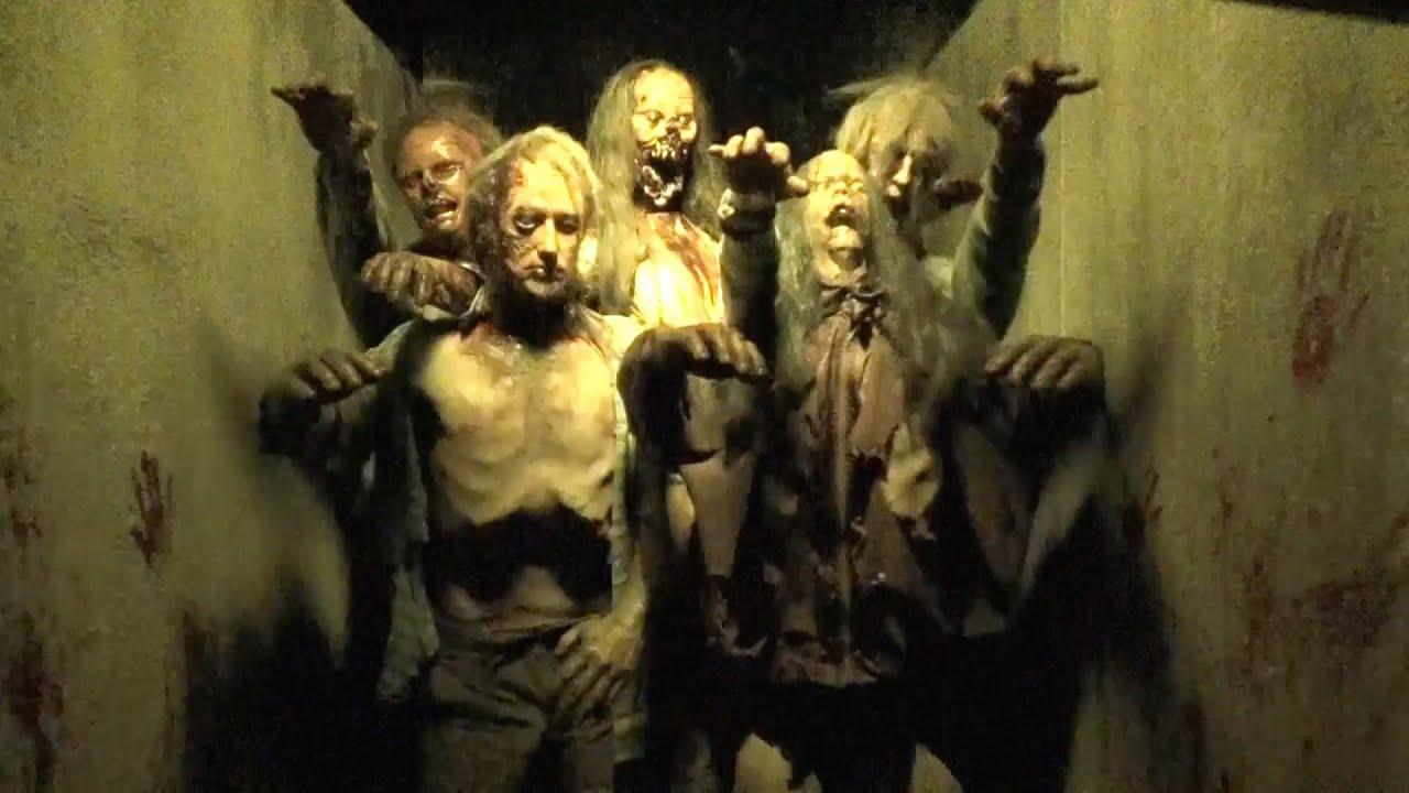 walking dead longest halloween horror nights haunted house ever highlights hhn 24 2014 youtube - Halloween Horror Night Theme