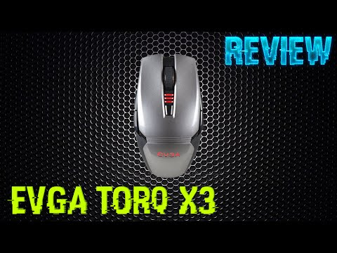 REVIEW - MOUSE EVGA TORQ X3