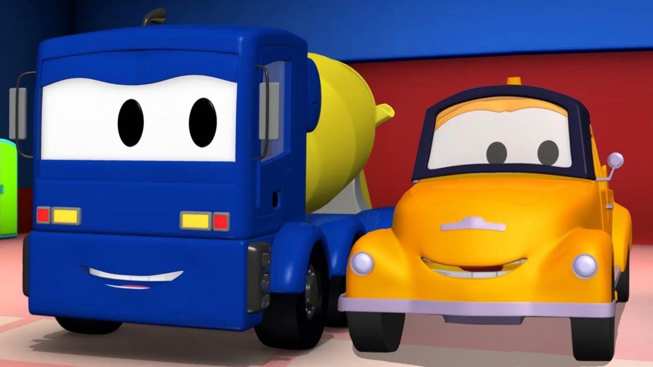 Xe tải kéo cho trẻ em Christopher  xe trộn bê tông - Thành phố xe
