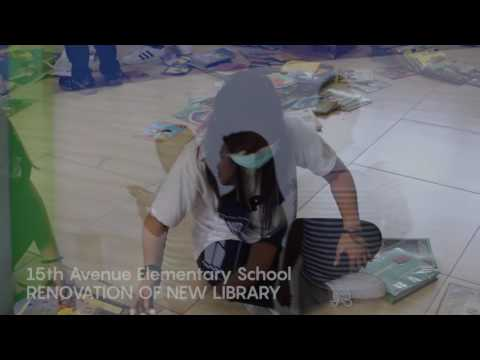 15th Avenue Elementary School  Library Renovation And Launch