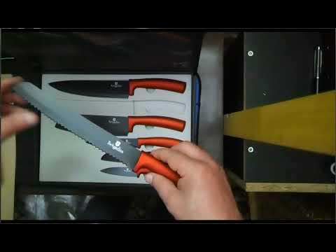 Распаковка ножи Berlinger Haus BH-2395