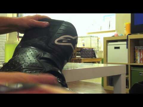 motocross boot care, the oven technique