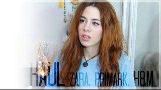 Haul - Zara, Primark, H&M / November '15 | Sandra Eme