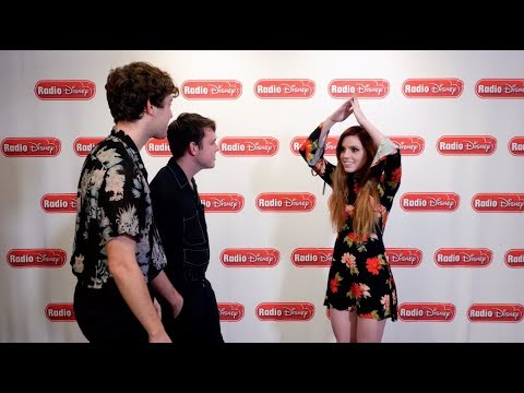 Echosmith Halloween Charades | Radio Disney