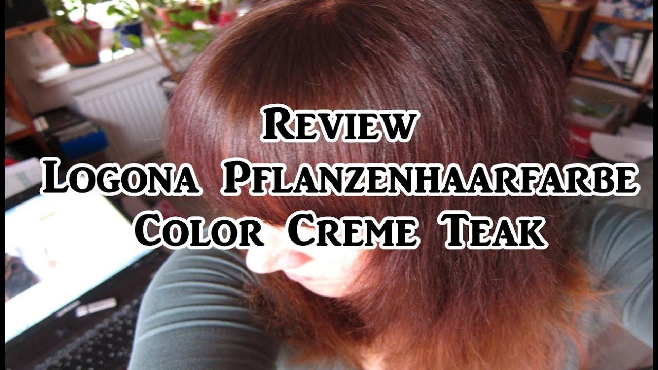 review logona pflanzenhaarfarbe color creme teak vegan tierversuchsfrei youtube - Logona Color Creme