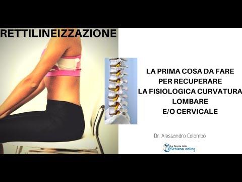 Rettilineizzazione: come recuperare la fisiologica lordosi cervicale