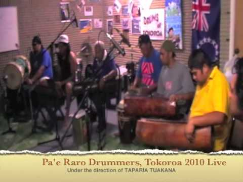 Cook Islands Drumming Live Two (audio only)