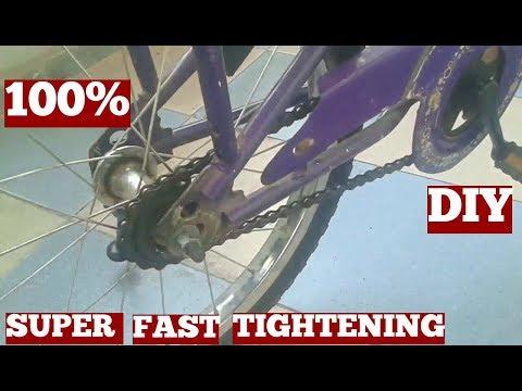How to Fix a Slipping/Loose Chain of Mini Bicycle (Kids) Effective Method