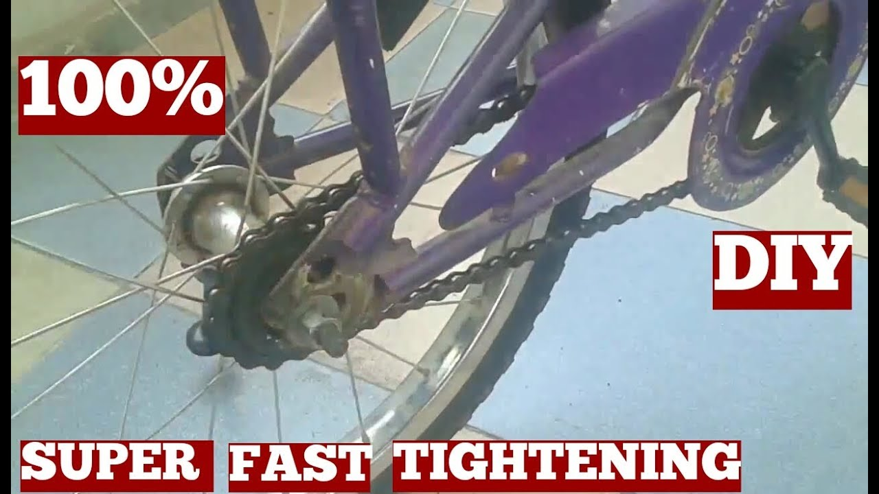 How To Fix Your Loose Chain On Bike Fast And Easy At Home ...