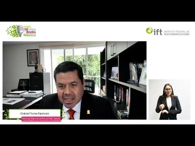 Gabriel Torres Espinoza en la mesa, la radio pública, vehículo para el desarrollo democrático. IFT 2