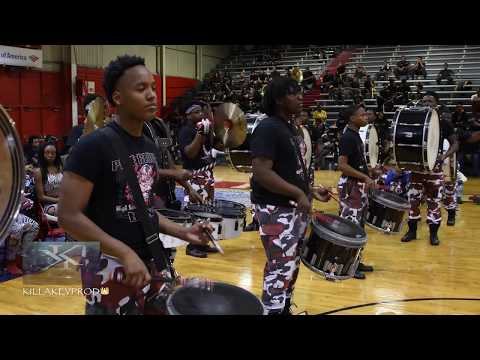 Whitehaven Vs Pine Bluff High School - Percussion Battle - 2017 |4K|