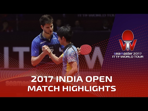 Thumbnail: 2017 India Open Highlights: Dimitrij Ovtcharov vs Koki Niwa (1/2)
