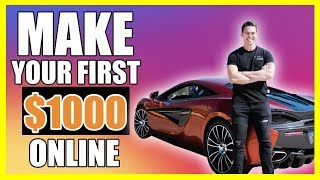 How To Make Your First $1000 Online | Ryan Hildreth