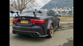 Jaguar XE SV Project 8 1000ml trip to Modena via German Autobahn