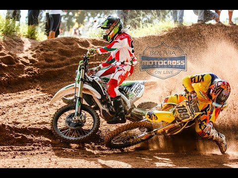 motocross (FIGHT)....  JOSE FELIPE VS MARCO ANTEZANA MX1 FINAL