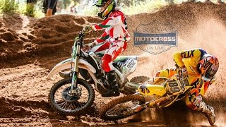 motocross (FIGHT)....  JOSE FELIPE VS MARCO ANTEZANA MX1 FINAL