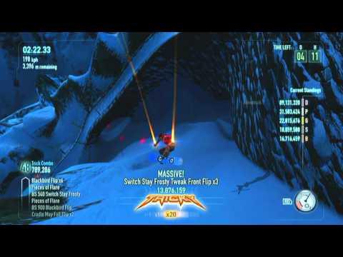 SSX 2012 - Trick It: Serenity 92 Million